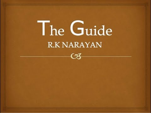 rk narayan novel the guide summary in hindi