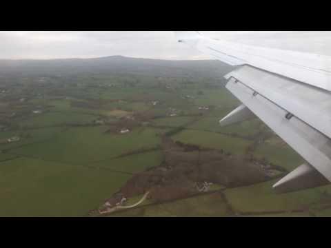 Landung mit RyanAir und Airbus  in Belfast International Airport