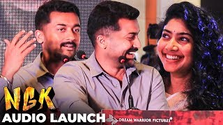 """Nightல Kooda Kiss Panniruken"" - Suriya Full Speech about Yuvan at NGK Audio Launch"
