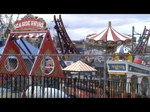 1April 2018. Coney Island. Amusement Park. Brooklyn. New York