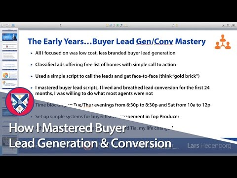 How I Mastered Buyer Lead Generation & Conversion