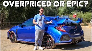2017 Civic Type R Review: A $60,000 HONDA CIVIC?!