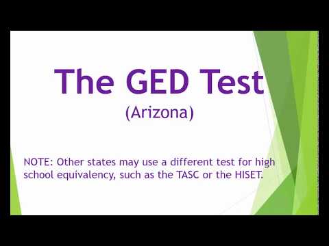GED Test Overview