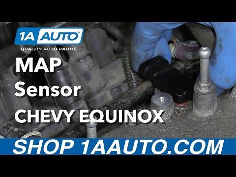 How to Install Replace MAP Sensor 3.4L V6 2005-09 Chevy Equinox