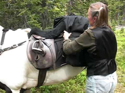 Packing with an English Saddle (Part I)