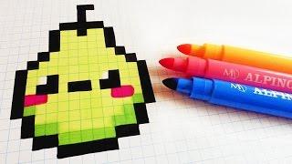 Handmade Pixel Art How To Draw Kawaii Tomatoe Pixelart