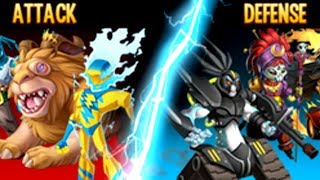 Monster Legends - BOSS Vs BOSS - TEAM WARS - Team Epic Bradox Cracks Vs Weakend Waries