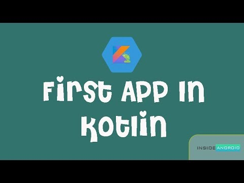 My First Android App in Kotlin   Android Studio