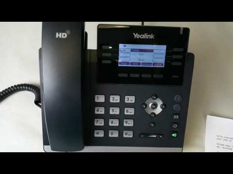 Yealink T41P / T42G User Guide - Voicemail Access & Setting Your Name & Greeting