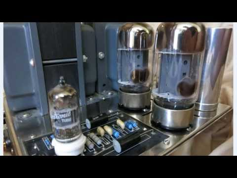 Dynaco Dynakit Amplifier Part 1 - How does rectifier, triode & pentode vacuum tube works?