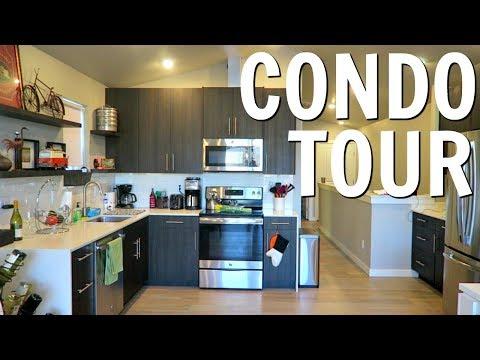 MY NEW CONDO TOUR!