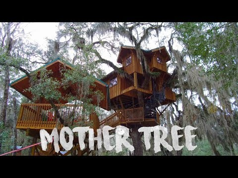 Tree House Tour - Tiny House Living on Suwannee River