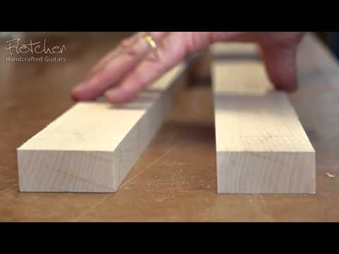 Create A Quarter Sawn Neck Blank From Flatsawn Timber