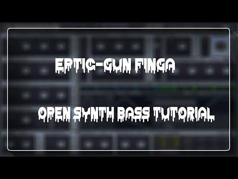 Eptic - Gun Finga Open Synth Bass Tutorial in Massive