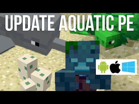 How to Get Update Aquatic in Pocket Edition