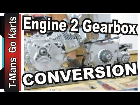 ENGINE to GEARBOX CONVERSION | AWESOME !