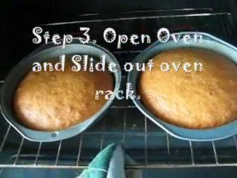 How To Know When Your Cake Is Done