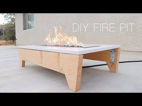 DIY Portable Concrete Fire Pit | Modern Builds