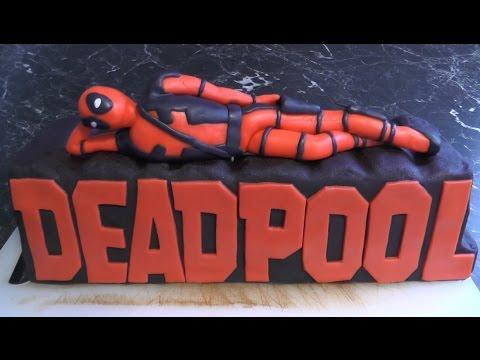 Deadpool Torte - Freaky Baking - NinNin