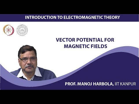 Vector potential for magnetic fields