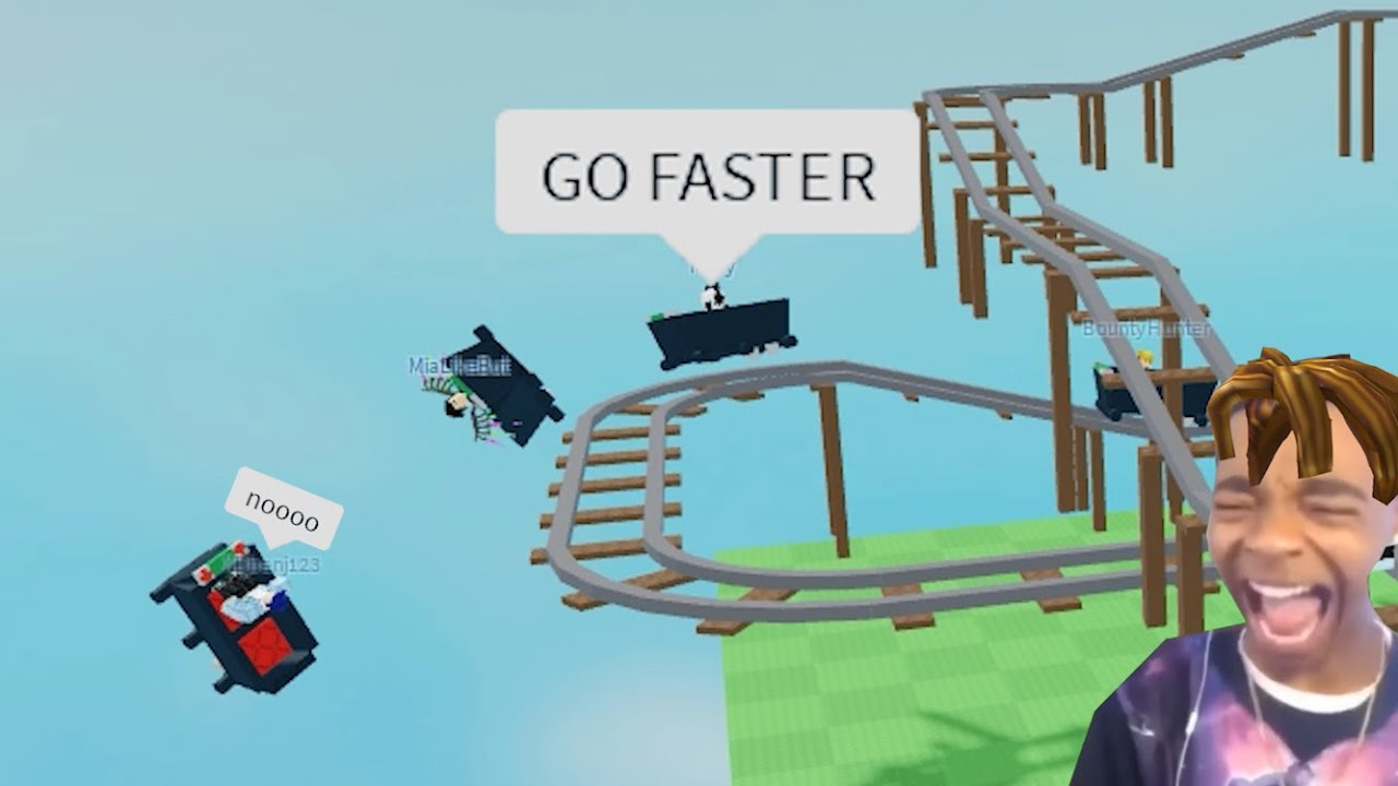 The Roblox Cart Ride Experience (funny)
