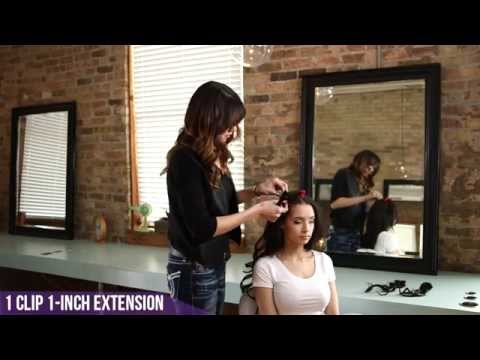 Hair Tutorial: 8-Piece Clip-In Hair Extension | Clenna® USA