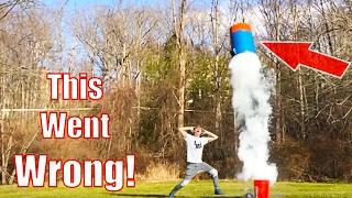 Giant Nerf Dart Launch!