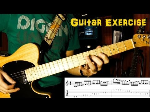 Guitar Exercise - Improve Speed And Accuracy