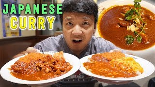 BEST Japanese CURRY! Curry Tour in Tokyo Japan!