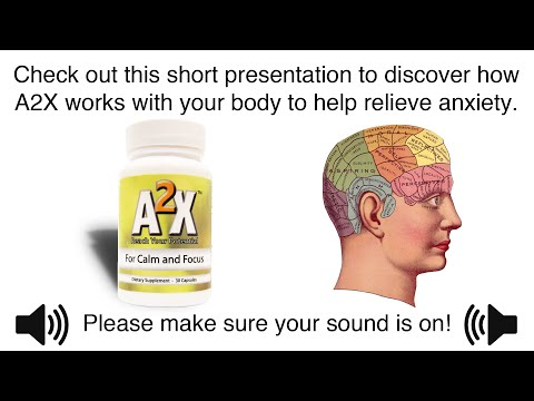 A2X for Natural Anxiety Relief