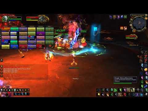 World Of Warcraft  Gtx 1080  I7 7700k Framerate test 1080p