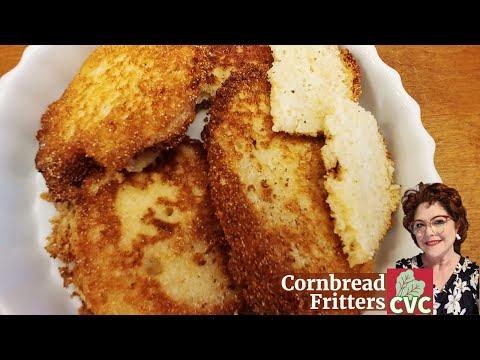 Fried Cornbread Fritters, Corn Pones, Cornbread Hoe Cakes