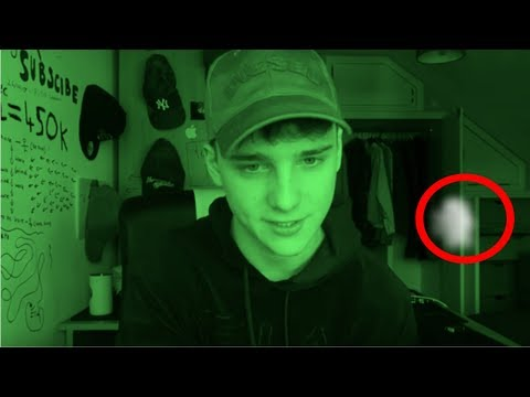 i caught a ghost in my video.. *MUST WATCH*