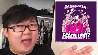 NEW T-SHIRTS AVAILABLE: Eggcellent and Tic-Tac-Toe Anime