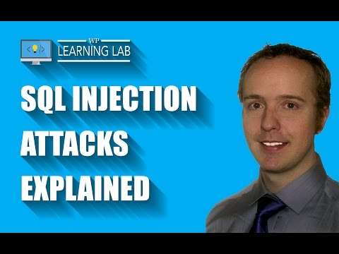 SQL Injection Hack Explained - Better WordPress Security | WP Learning Lab