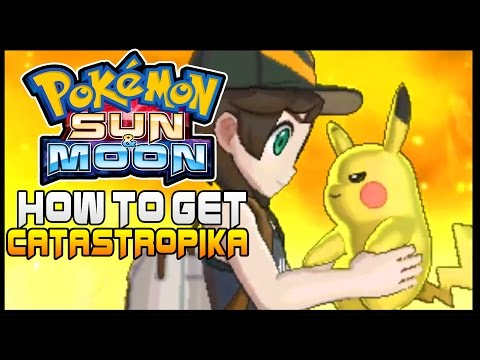 Pokemon Sun and Moon Where to get Pikanium Z Catastropika ( How to get Pikachus Z Crystal )