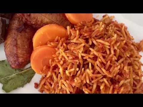 How to make jollof rice with corned beef