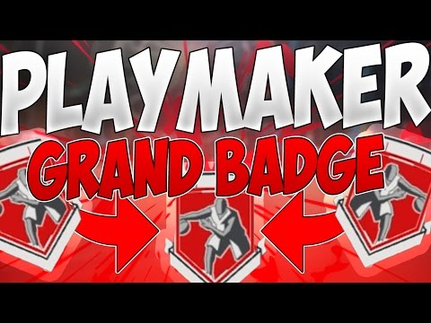 How to get Playmaker/Point Forward Grand Badge! *UPDATED* (Fastest Way) (After Patch 12) (NBA 2K17)
