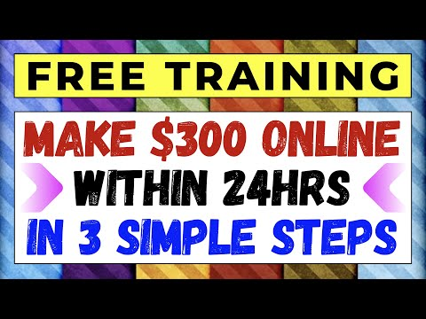 How to Make Money Online FAST using my New BEGINNER FRIENDLY 3 Step EASY PROFIT System   FREE GUIDE