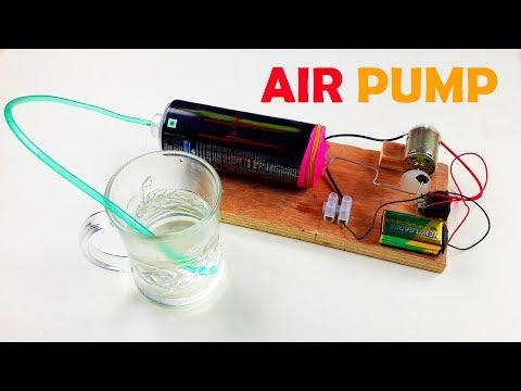 How to Make an Air Pump - Mini aquarium air pump