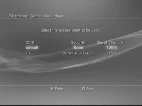 How to connect a ps3 to the internet wirelessly