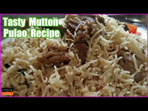 Tasty Mutton Pulao Recipe | Howto Make Pressure Cooker Pulao | Yakhni Rice Recipe