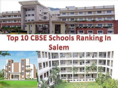 Top 10 CBSE Schools Ranking In Salem