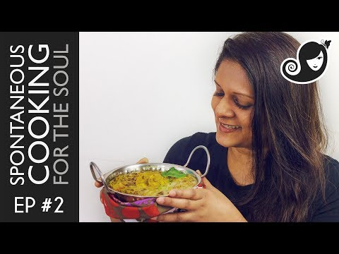 Spontaneous Cooking for the Soul Ep #2: Aduki Beans Curry with Plantain & Snake Beans | Vegan Recipe
