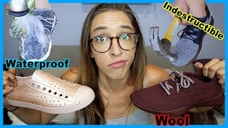 Testing Weird Shoes I Got Ads For!