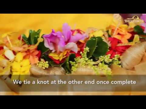 How to make a Fijian Garland or Lei (Salusalu)