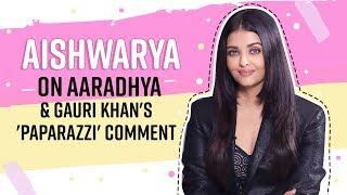 Aishwarya Rai Bachchan on Aaradhya, paparazzi's 'tamasha' and her biography |Maleficent 2
