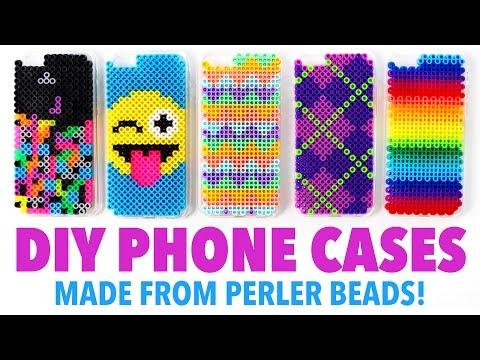 DIY Phone Cases made from Perler Beads! - HGTV Handmade
