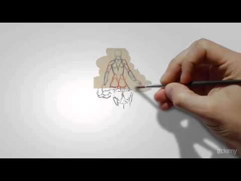 How to Human anatomy drawing Lessons Tutorial, Anatomy for figure drawing Muscle