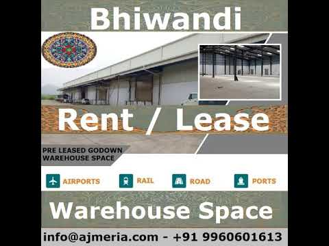 Commercial Warehouse Space for Rent Lease at Bhiwandi by ajmeria property, અર્જેમેરી પ્રોપર્ટી દ્વાર